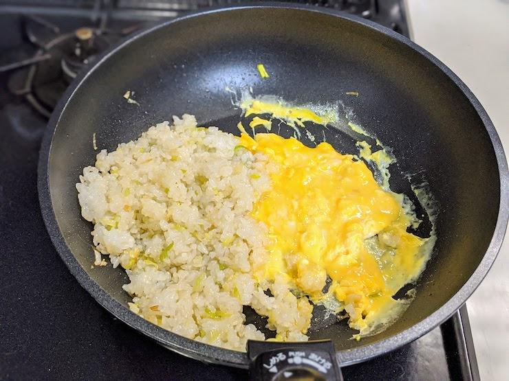 卵が半熟状態になればOK