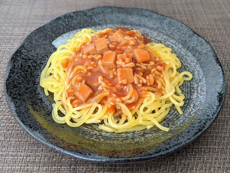 低たんぱくミートミート入り麻婆麺