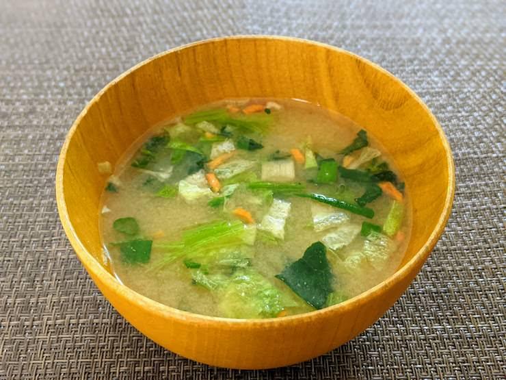 アマノフーズ 減塩 うちのおみそ汁 野菜