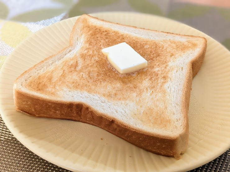 バタートーストにしていただきます