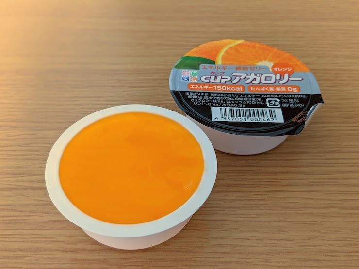 カップアガロリー(オレンジ味)